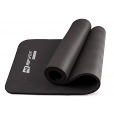 Коврик для йоги и фитнеса Hop-Sport HS-N015GM 15 мм Черный
