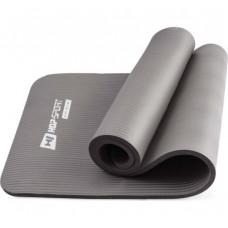 Коврик для йоги и фитнеса Hop-Sport HS-N015GM 15 мм Серый