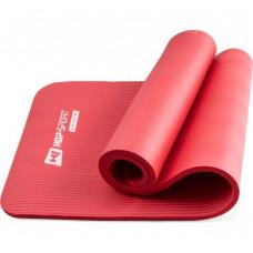 Коврик для йоги и фитнеса Hop-Sport HS-N015GM 15 мм Красный
