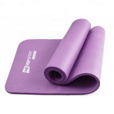 Коврик для йоги и фитнеса Hop-Sport HS-N015GM 15 мм Фиолетовый