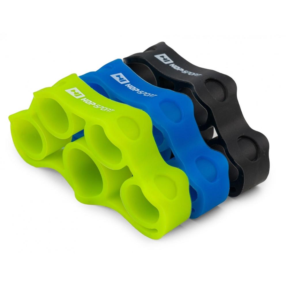 Набір еспандерів для тренування кисті/пальців Hop-Sport HS-M003FT розмір M