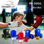 Боксерские Перчатки PowerPlay 3004 JR Красно-Белые 6 Унций