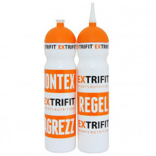 Bottle Extrifit White short nozzle (700 ml, white)