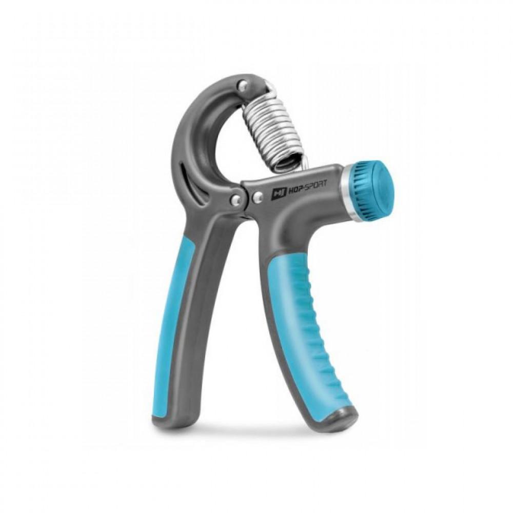 Еспандер регульований Hop-Sport 10-40 кг Серый/Синий