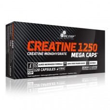 Creatine Mega Caps 1250 (120 caps)