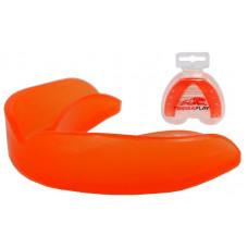 Капа боксерская PowerPlay 3305 SR Оранжевая