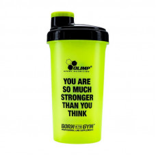 """Shaker """"YOU ARE SO MUCH STRONGER THAN YOU THINK"""" (700 ml, green)"""