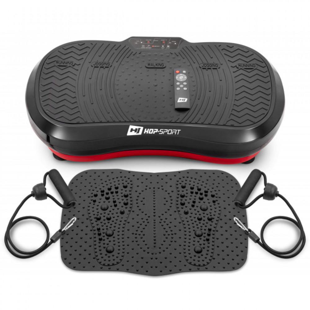 Вибрационная платформа Hop-Sport HS-050VS Nexus с накладкой массажером