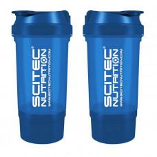 Scitec Shaker 500 Travel (500 ml blue) (500 ml, blue)