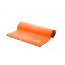 Коврик для фитнеса и йоги PowerPlay 4011 оранжевый
