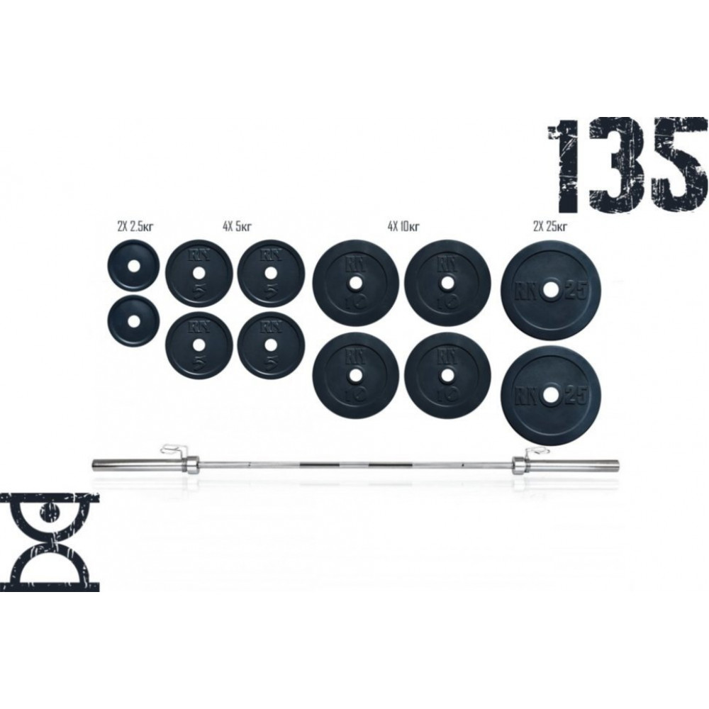 Штанга RN Sport 135 кг