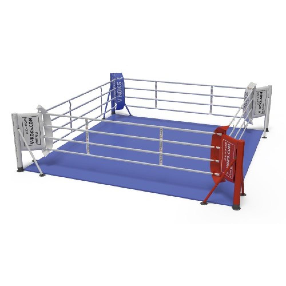 Ринг для бокса V`Noks напольный 6*6 м