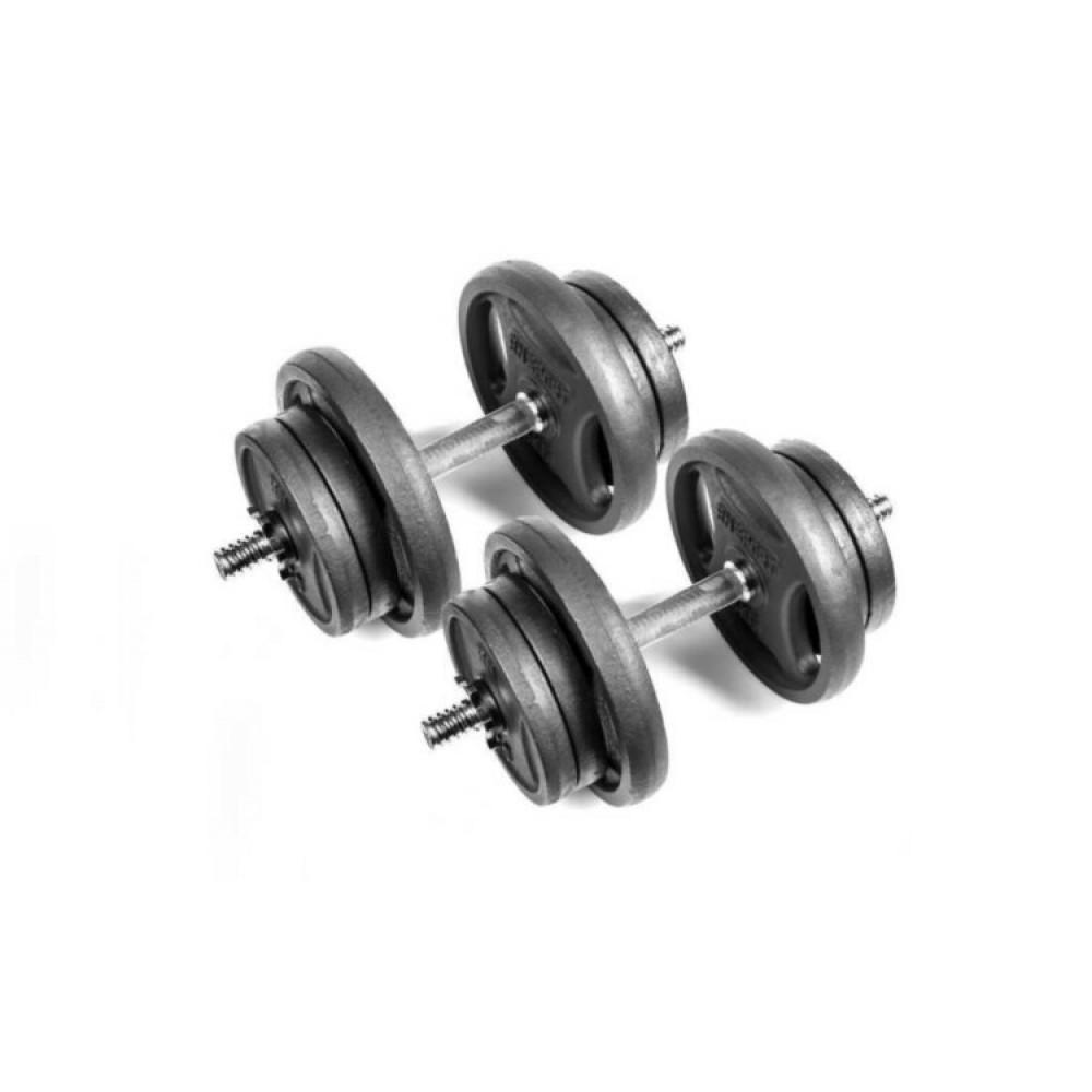 Гантели чугунные RN-Sport 2 шт по 21 кг