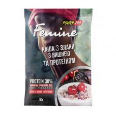 Femine каша 3 злаки (50 g, з чорницею та протеїном)