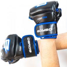 Перчатки ММА BoyBo Challenger Flex синие L SF12-74-4