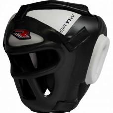 Боксерский шлем тренировочный RDX Guard White XL