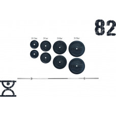 Штанга RN Sport 82 кг