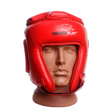 Боксерский шлем турнирный PowerPlay 3045 Красный L