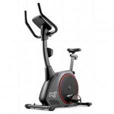 Велотренажер электромагнитный Hop-Sport HS-095H Strike Gray + мат