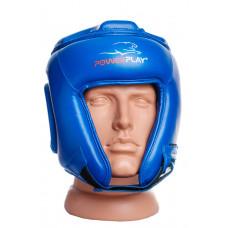 Боксерский шлем турнирный PowerPlay 3045 L Синий