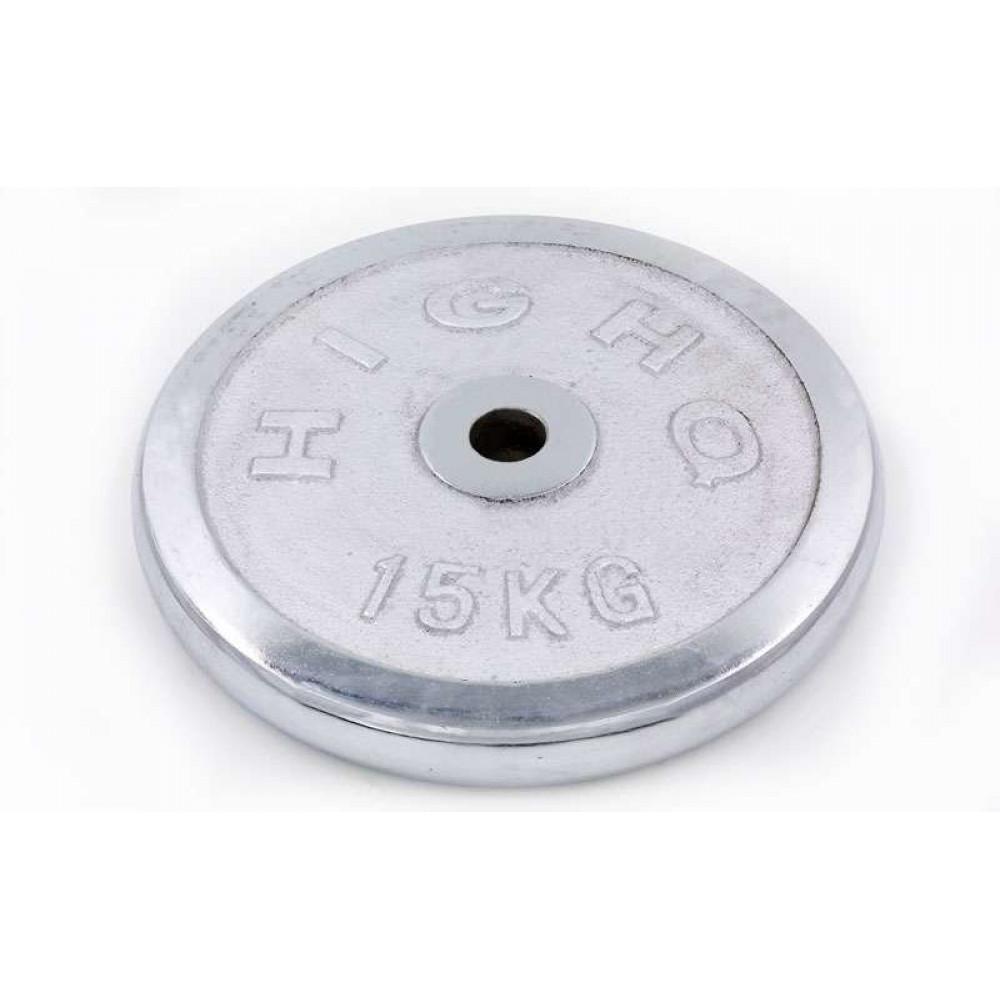 Блин хромированный 15 кг (31 мм)