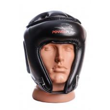 Боксерский шлем турнирный PowerPlay 3045 L Черный