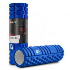 Роллер массажер EVA 45 см blue