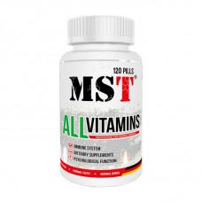 All Vitamins (120 pills)