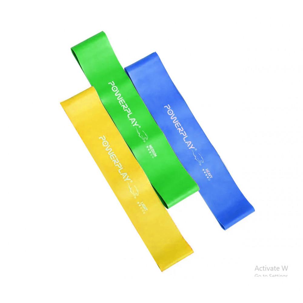 Фитнес резинки набор из 3шт PowerPlay 4114