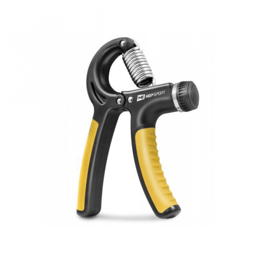 Еспандер регульований Hop-Sport 10-40 кг Черный/Желтый