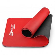 Мат для фитнеса TPE 0,6 см HS-T006GM red