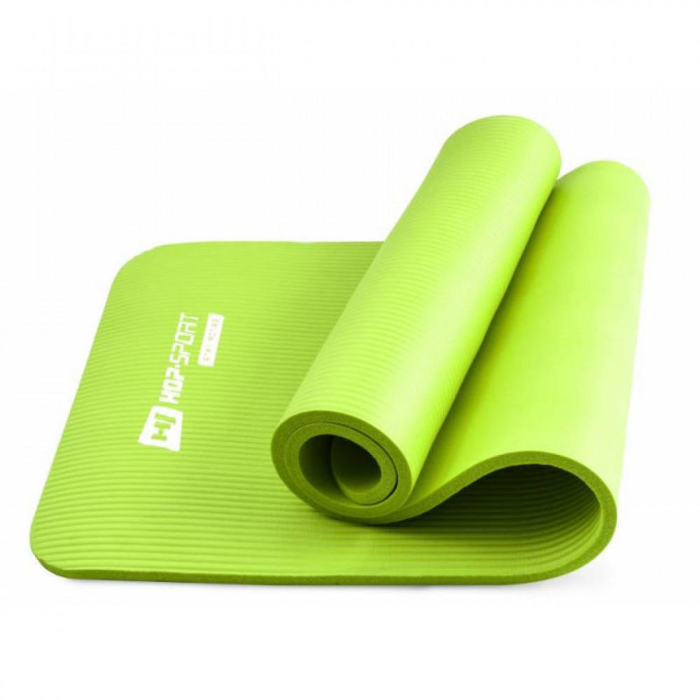 Коврик для йоги и фитнеса Hop-Sport HS-N015GM 15 мм Зеленый