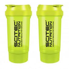 Scitec Shaker 500 Travel (500 ml green) (500 ml, green)