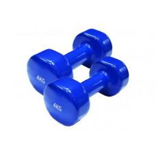 Гантели SPART 2 шт по 4 кг
