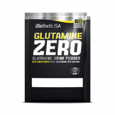 Glutamine Zero (12 g, peach ice tea)