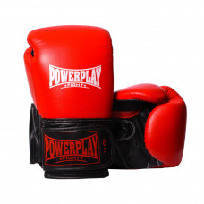 Боксерские Перчатки PowerPlay 3015 Красные 10 Унций