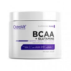 100% BCAA+Glutamine (200 g, pure)
