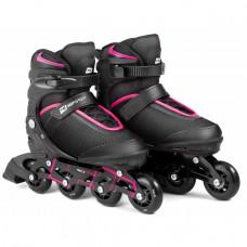 Ролики 3W1 HS-903 Motion S черно-розовые