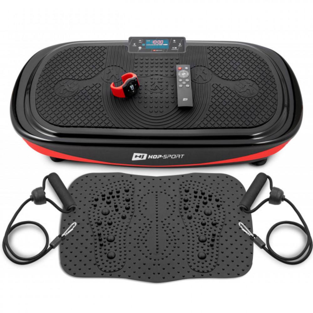 Вибрационная платформа Hop-Sport 4D HS-095VS Crown + накладка / пульт управления / часы