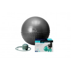 Мяч для фитнеса PowerPlay 4003 75см Темно серый