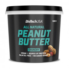 All Natural Peanut Butter (1 kg, crunchy)