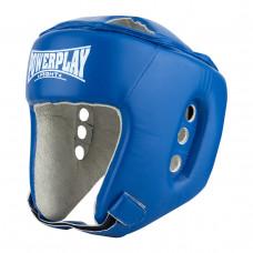 Боксерский шлем тренировочный PowerPlay 3084 L синий
