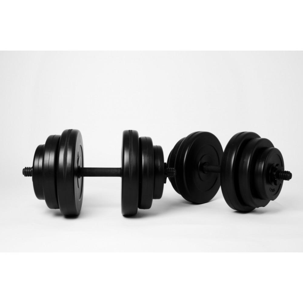 Гантели WCG 2 шт по 18 кг