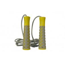 Скакалка PowerPlay 4206 Cіро-жовта