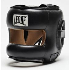 Боксерский шлем с бампером Leone Protection