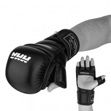 Перчатки для MMA PowerPlay 3026 Черные M