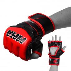 Перчатки для MMA PowerPlay 3055 Красно-Черный S