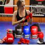 Боксерские Перчатки PowerPlay 3019 Красные 12 Унций