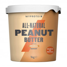 Peanut Butter Natural -Smooth (1 kg, Smooth)