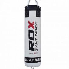 Боксерский мешок RDX Leather White 1.5 м, 45-55 кг